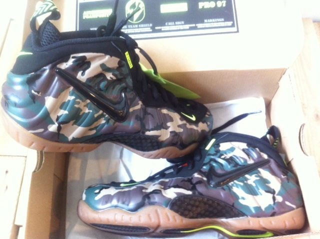 Nike Air Foamposite Pro - Army Camo (2)