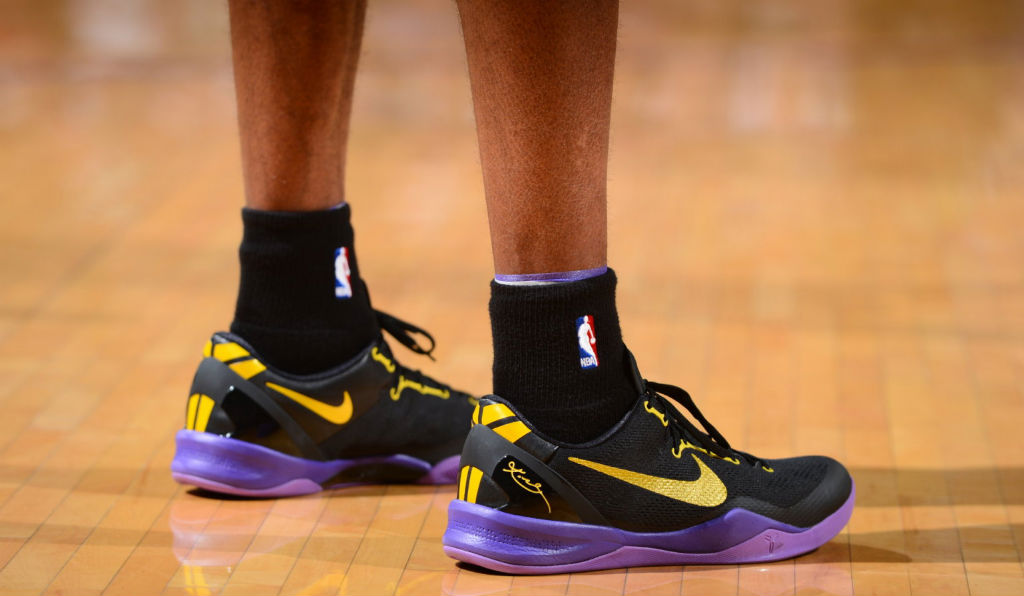 c22d76e5c04b Kobe Bryant Passes Wilt Chamberlain On All-Time Scoring List In Nike Kobe 8  System