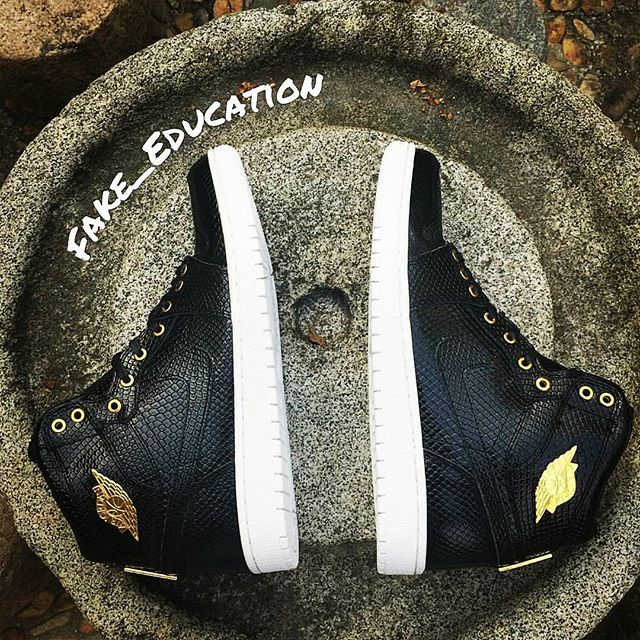 ee3babea3f4b How To Tell If Your  Pinnacle  Air Jordan 1s Are Real or Fake