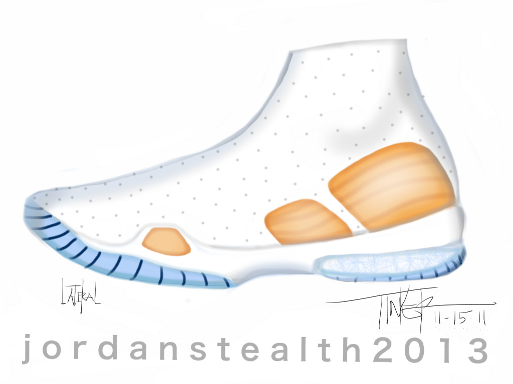 Air Jordan XX8 Sketch Work (1)