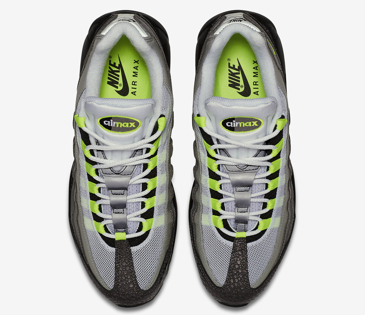 best authentic e8293 437c2 Neon Nike Air Max 95s Like Youve Never Seen Them Before