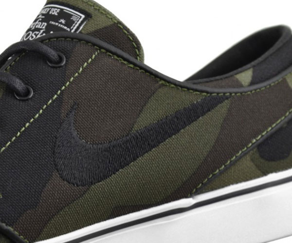 low priced ec5eb 184d0 Nike Skateboarding will release several camo covered products next month,  including this latest look for the always dependable SB Stefan Janoski.
