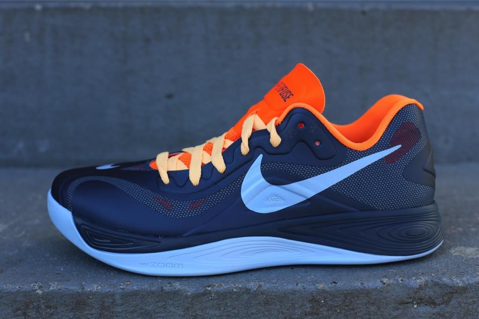 a56f4b4a22e4 Nike Hyperfuse 2012 Low - Squadron Blue Total Orange