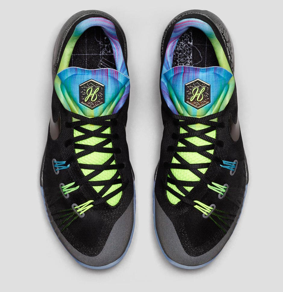 ece2a3ad8fcb Nike Hyperchase All Star Release Date  02 12 15. Color  Black Clearwater Silver  Ice Style    768940-004. Price   120