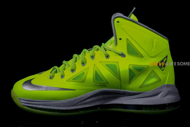 Nike LeBron X - Volt Dunkman