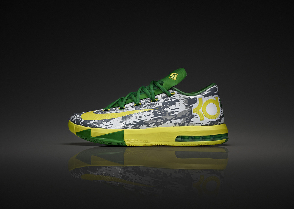 Nike KD VI Oregon Duck Armed Forces Classic Team Exclusive profile
