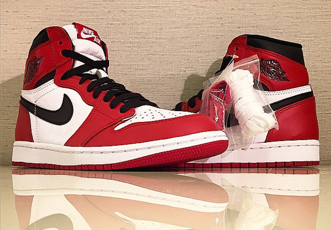 c834bdcd519cb3 The  Chicago  Air Jordan 1 Gets a Proper Retro for 2015