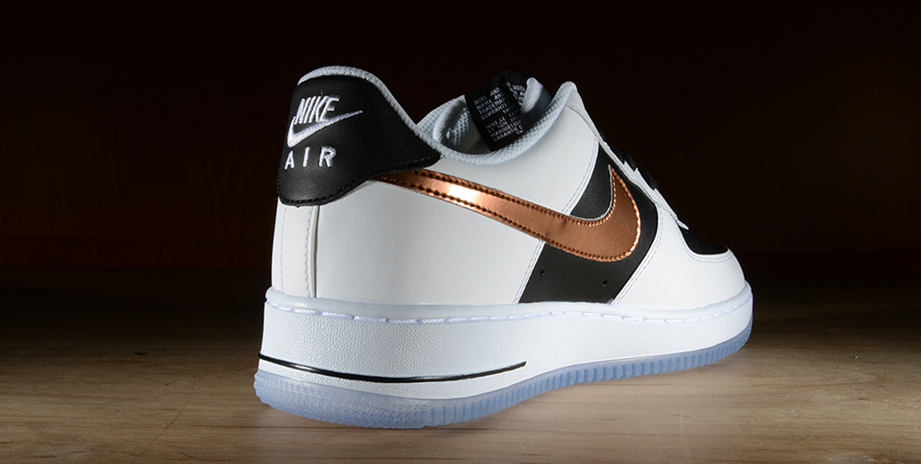 nike air force 1 white copper black