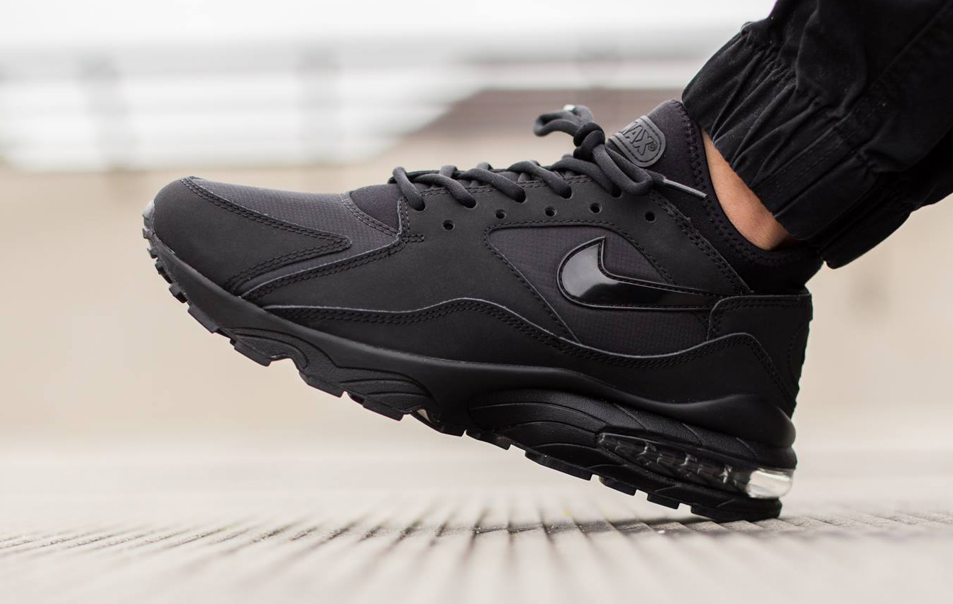 san francisco 9b768 c46cb Nike Air Max 93s Are Back in Black. All black everything.