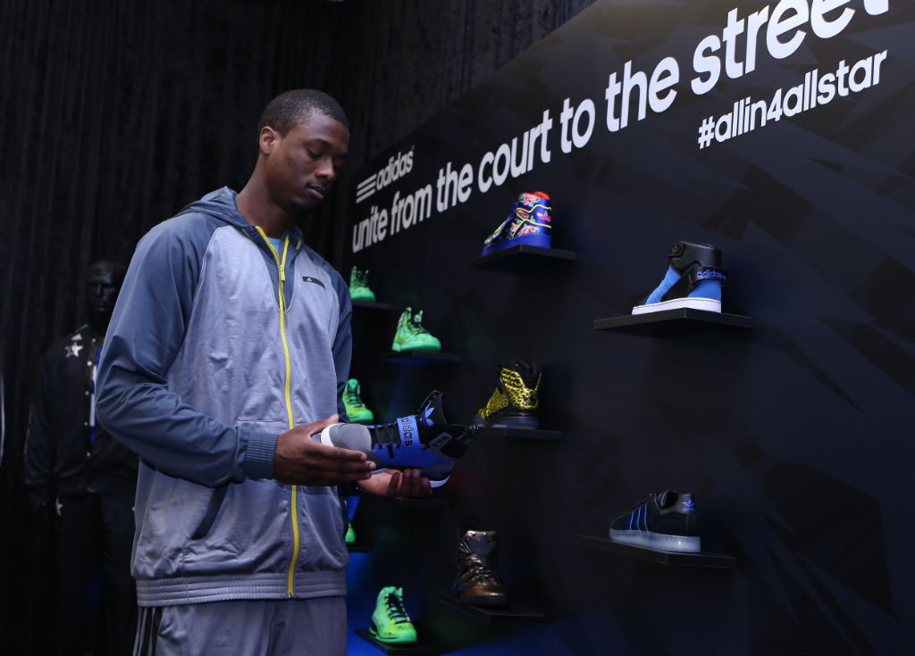 adidas Basketball Athletes Celebrate NBA All-Star // Harrison Barnes (2)