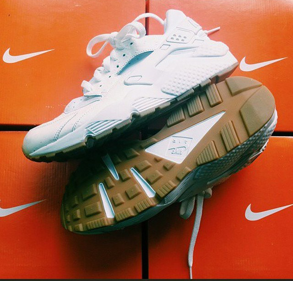 6efcbf1aa893 First Look at the Nike Air Huarache in White Ostrich and Gum