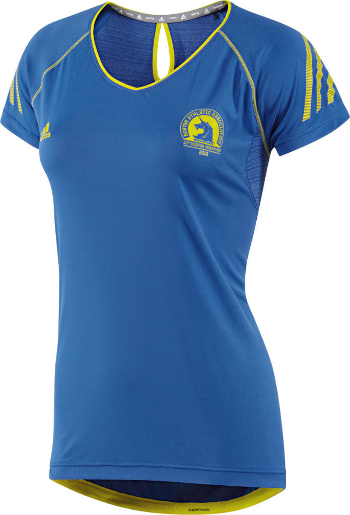 adidas 2013 Boston Marathon Collection Supernova Short Sleeve Top Women's