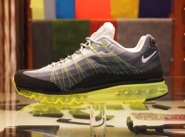brand new ada8c 2159f Take a closer look at the Nike Air Max 95 Dynamic Flywire iD in the images  below