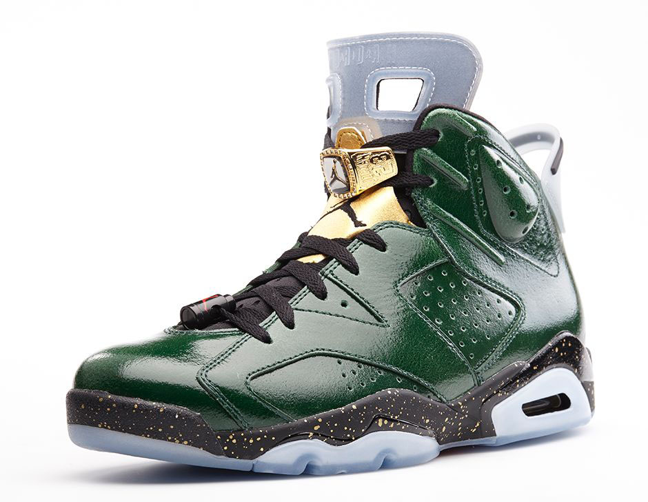 Air Jordan VI 6 Celebration Champagne 384664-350  (3)