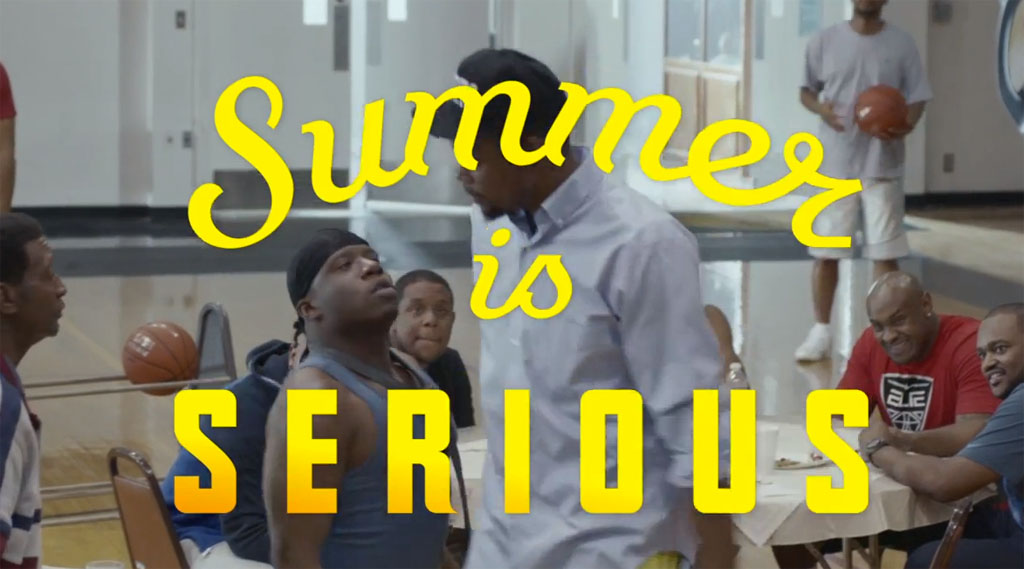 Nike Basketball & Kevin Durant | #SUMMERISSERIOUS Video