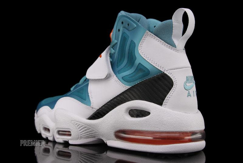 new style 73f7c cf376 nike air max express miami dolphins for sale