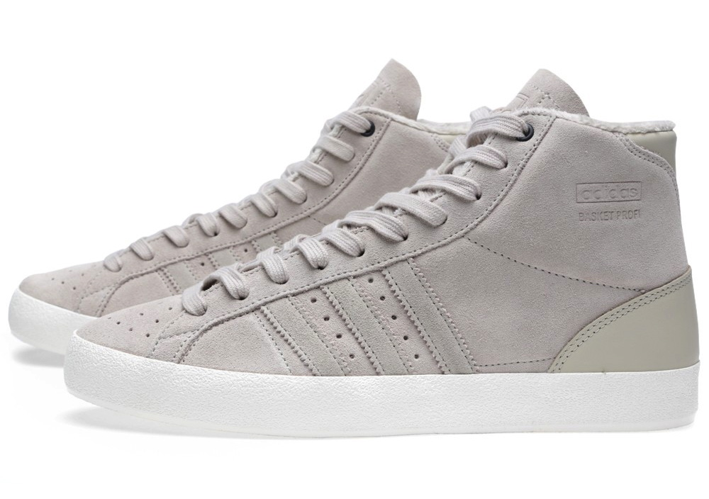 United Arrows x adidas Originals Basket Profi OG in Bliss and White Vapour profile