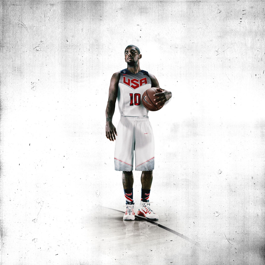 Nike Basketball Unveils 2014 USA Basketball Uniforms - Kyrie Irving (2)