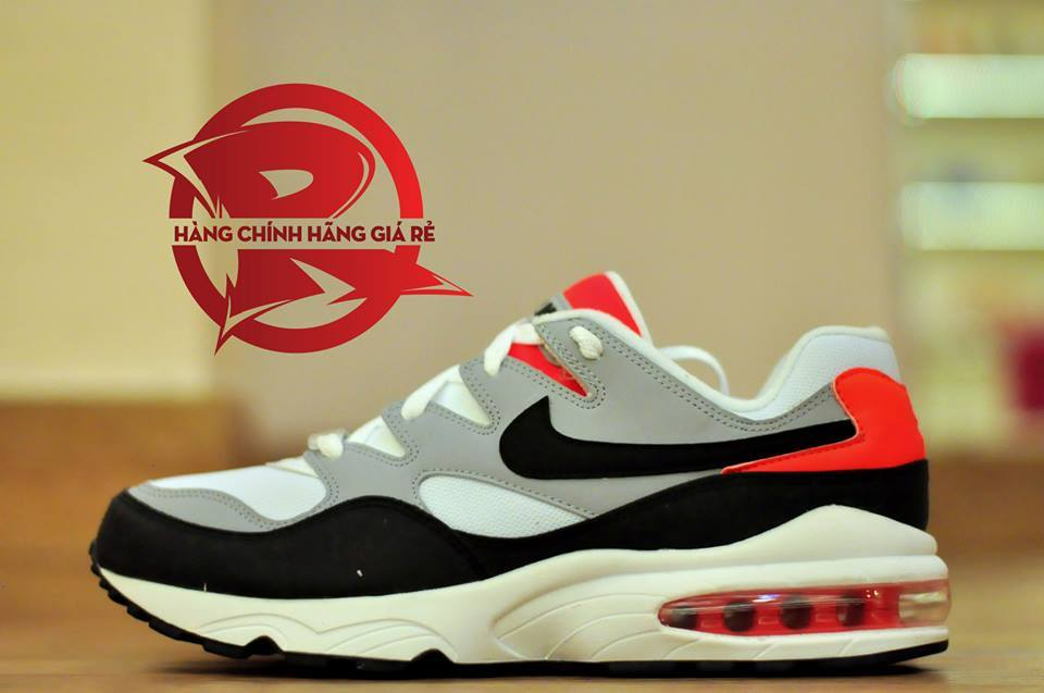 Nike Air Max 94 White Black Grey Red