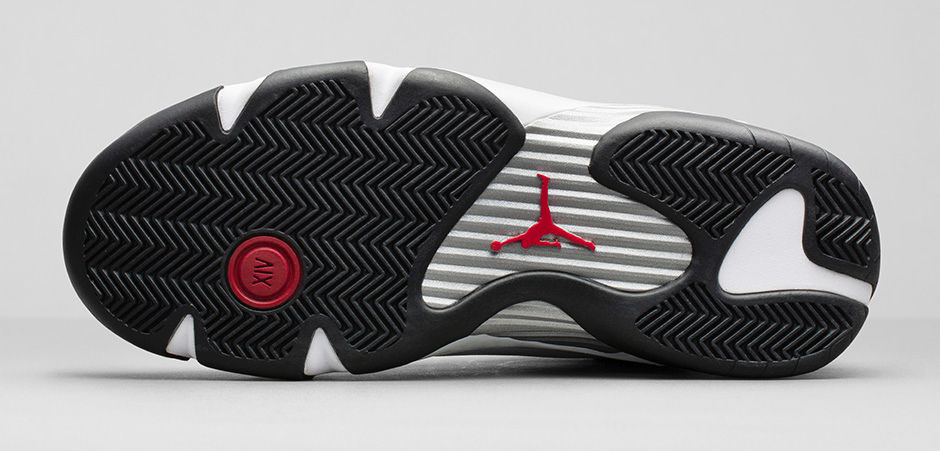 498e95428e02 Air Jordan XIV 14 Retro Black Toe Official 487471-102 (8)
