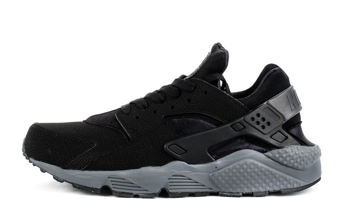 Nike Air Huarache Black And Grey