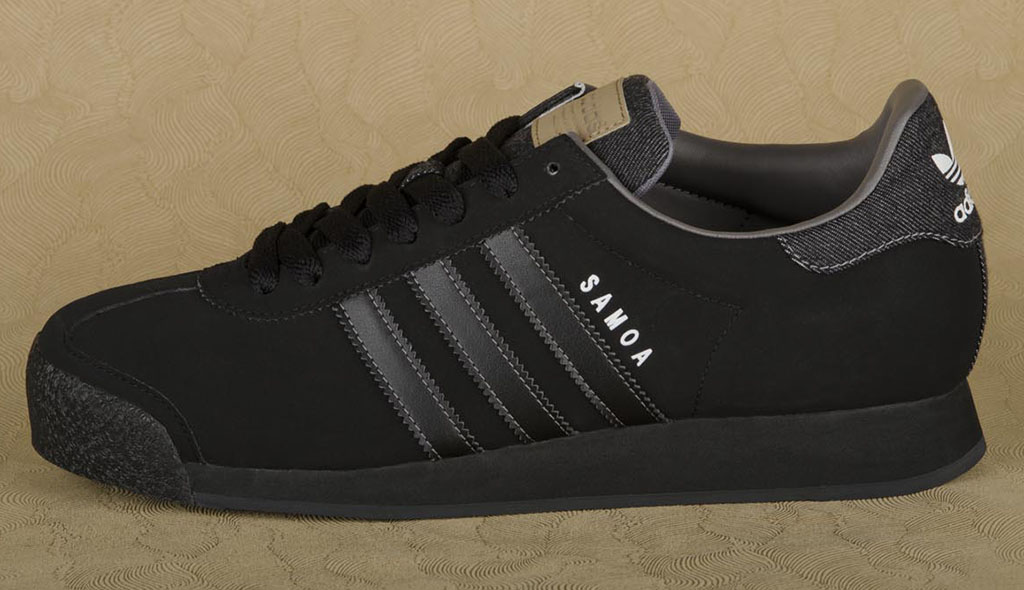 samoa adidas all black