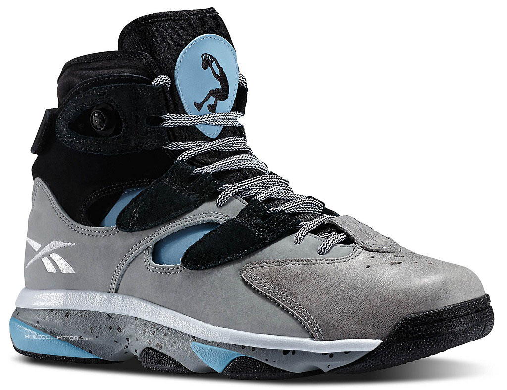 Reebok Instapump Shaq Attaq 4 Grey/Black-Blue (1)