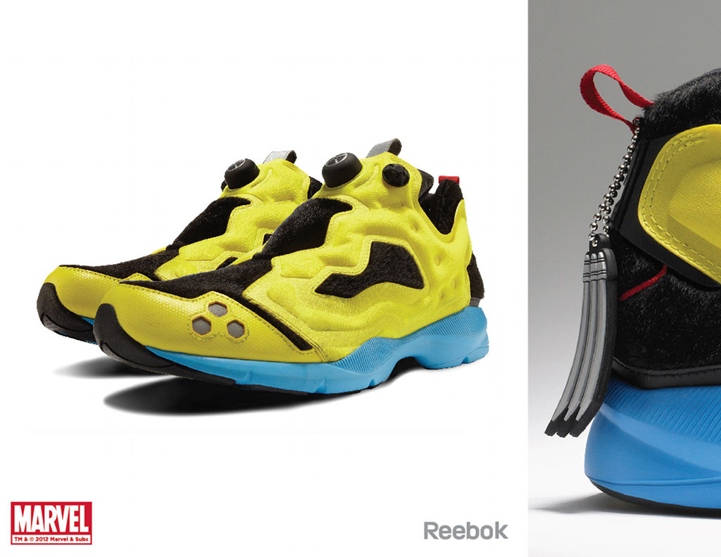 Marvel x Reebok Collection - Wolverine Pump Fury HLS