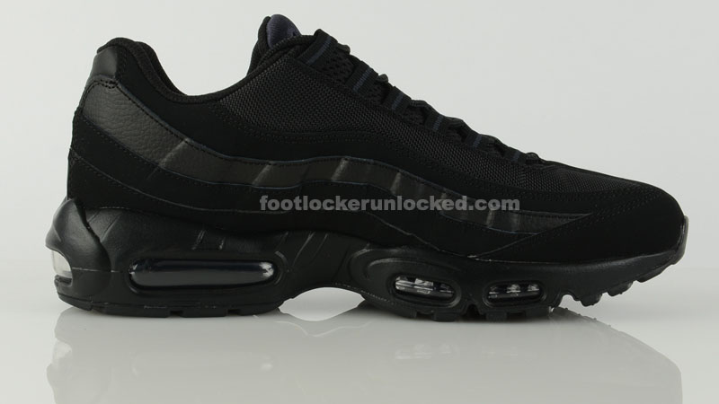 new concept 8bc2e deb62 ... germany nike air max 95 triple black blackout 6 0d68a 40498