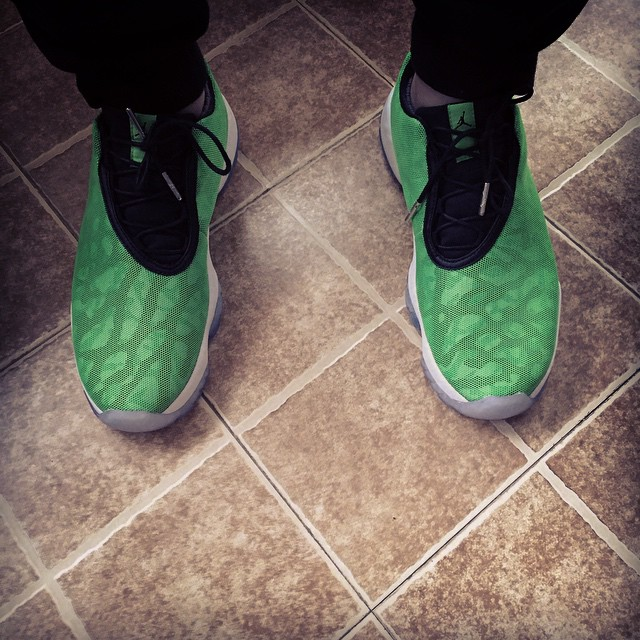 4dbd75bf3f8584 Air Jordan Future Low Injected with Light Poison Green