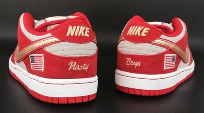 A Nike SB Dunk Low for Cincinnati Reds