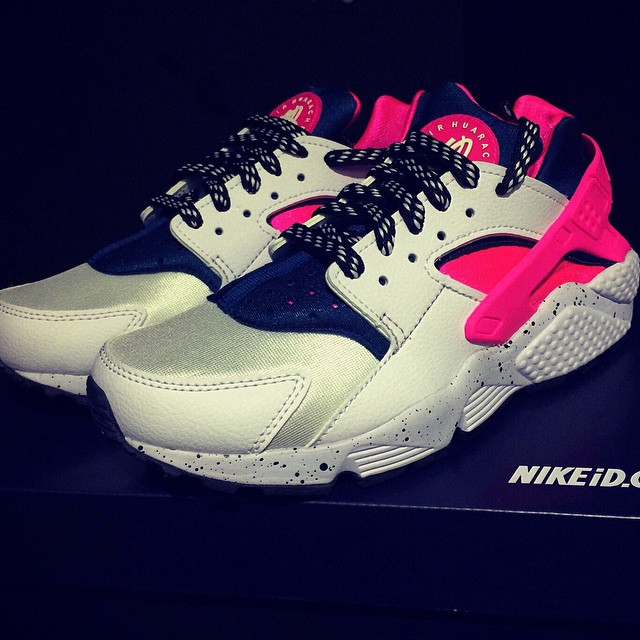 62c31c88485f 50 of the Best NIKEiD Air Huarache Designs on Instagram