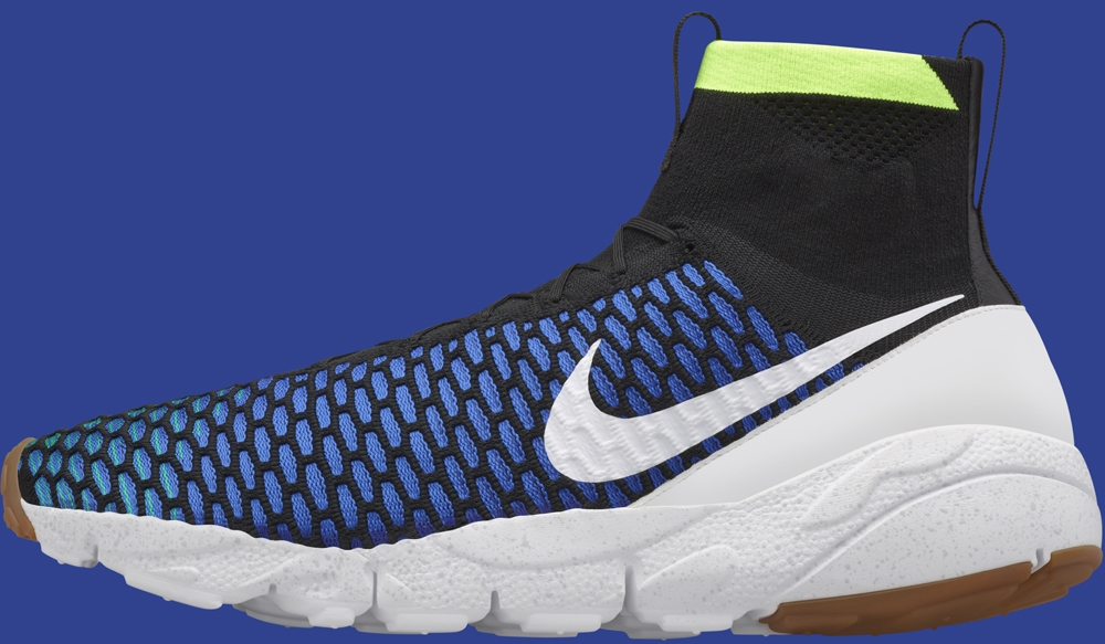 Nike Air Footscape Magista SP Black/Game Royal-Volt-White