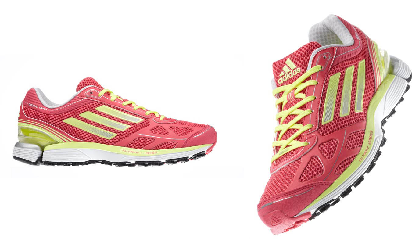 watch fb559 ca7e6 adidas Launches adiZero Sonic 3 Pink Yellow White