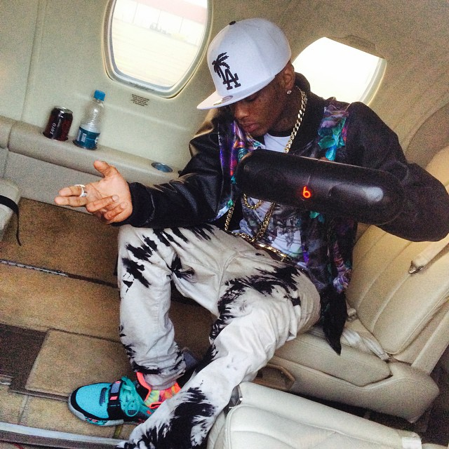 Soulja Boy wearing Nike Air Max Bo Jax South Beach