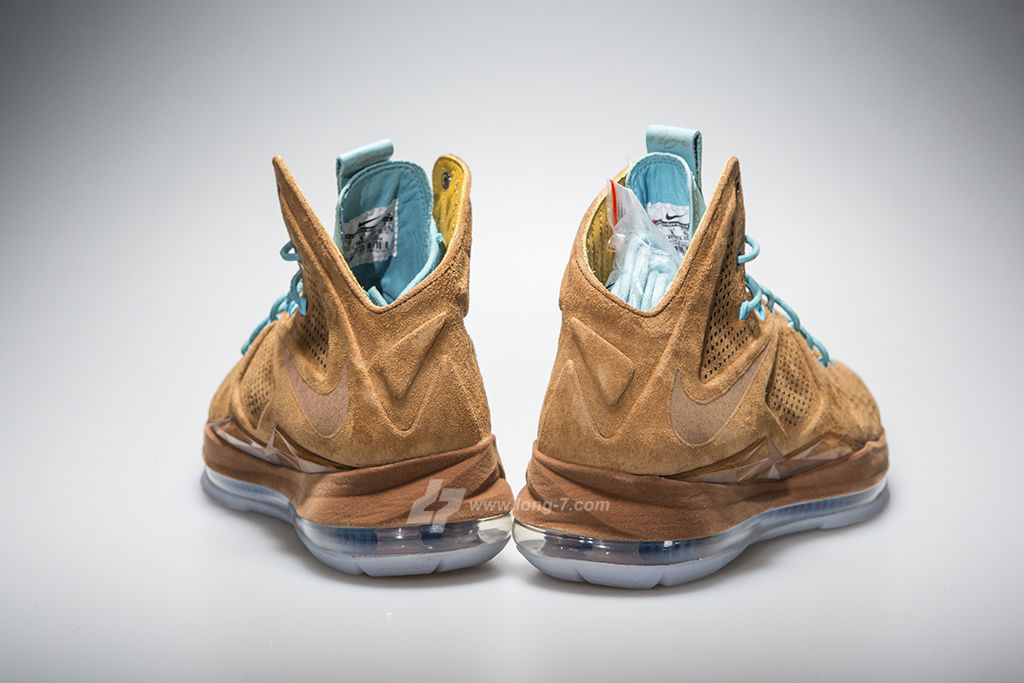 12290e74008 Nike LeBron X EXT Brown Suede 607078-200 (6)