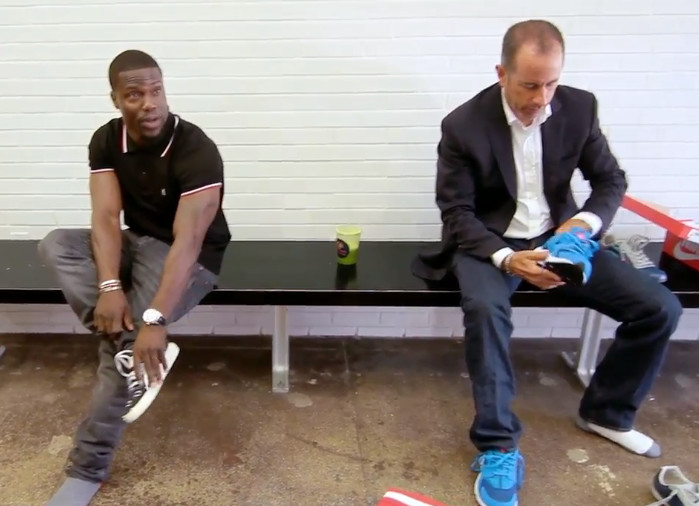 Jerry Seinfeld and Kevin Hart Buy