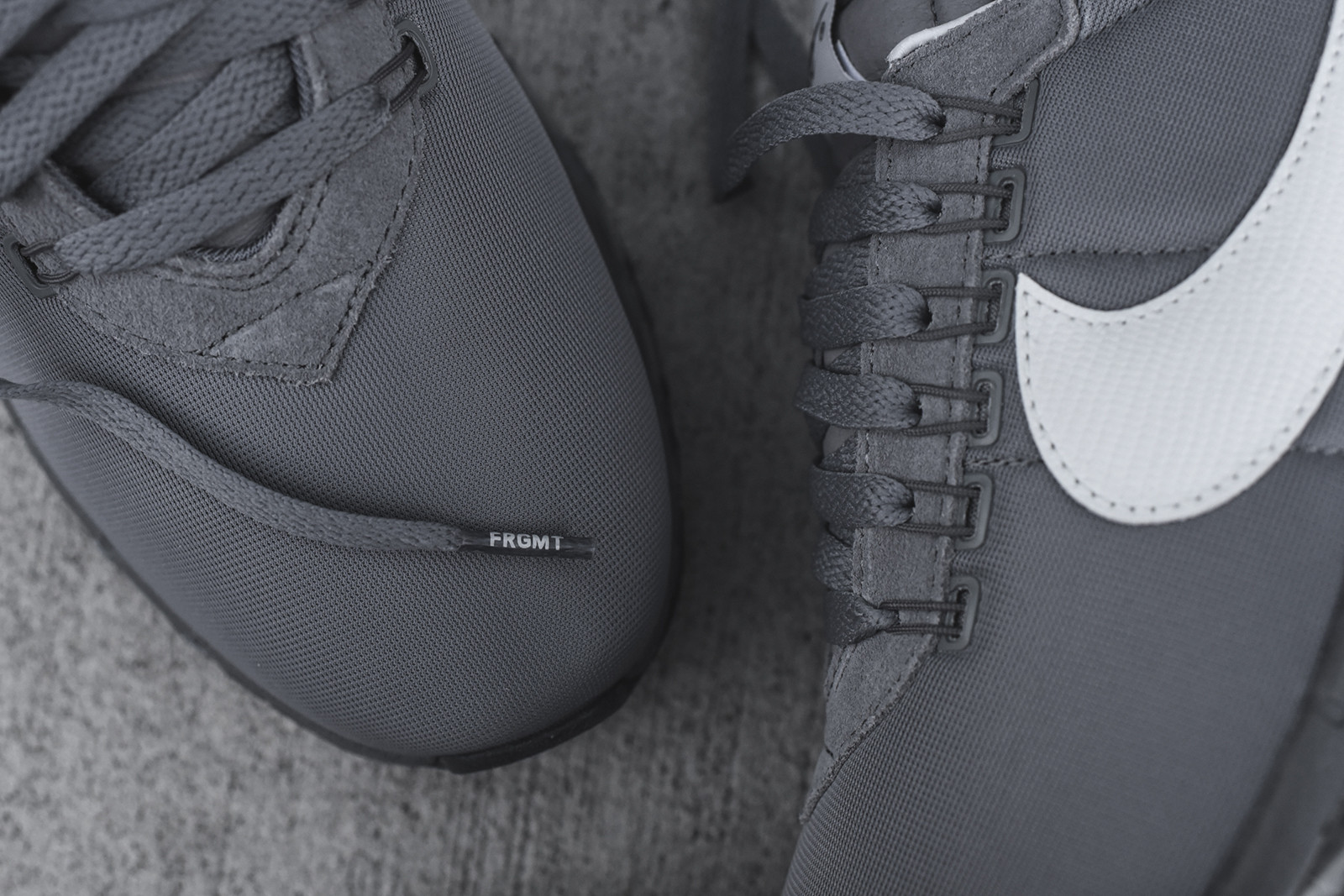 6c1867525ed8 Fragment Nike Air Max LD Zero 885893-002 Toe Detail