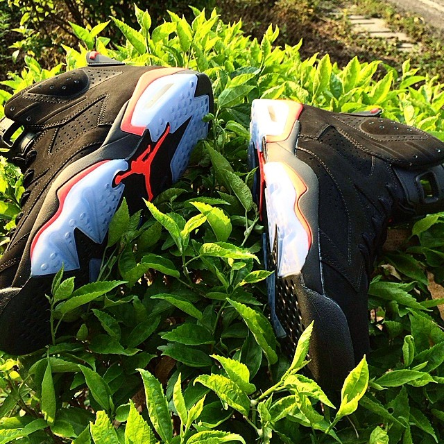 Air Jordan VI 6 Black/Infrared (2)