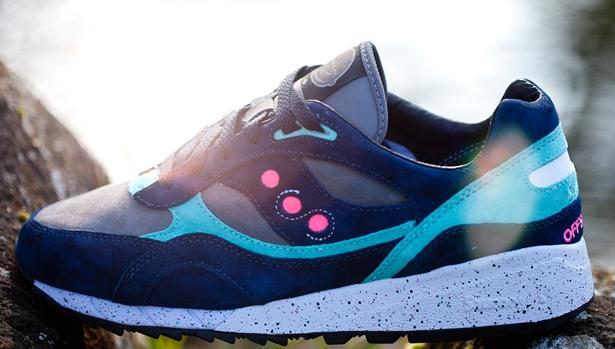Saucony Shadow 6000 Navy/Grey-Neon Pink-Turquoise