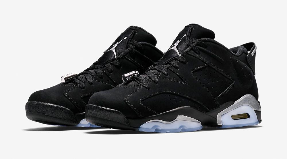 half off b235c e2216 Chrome Jordan 6 Low Images via Nike