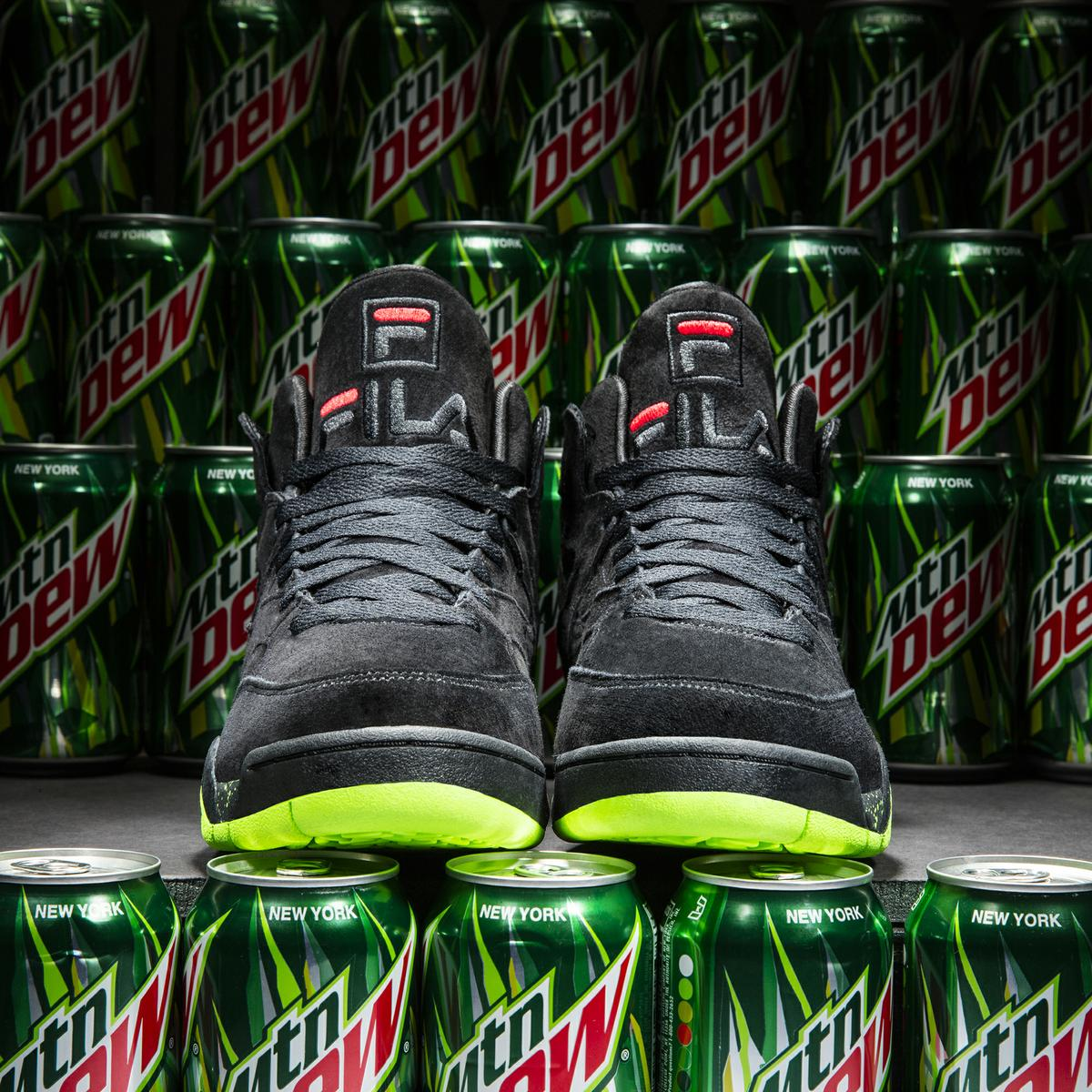 Mountain Dew FILA MSquad Front