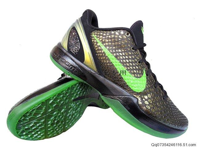 60c76c1442e Nike Zoom Kobe VI Moss Green Green Apple Black 446442-301