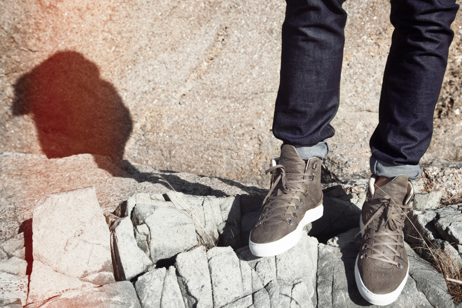 Filling Pieces AW 13 Mountain Boot ostrich