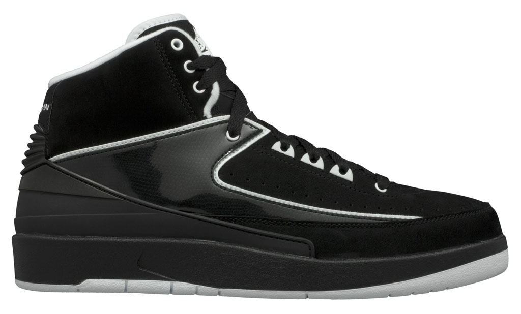 Air Jordan II 2 QF Black/White