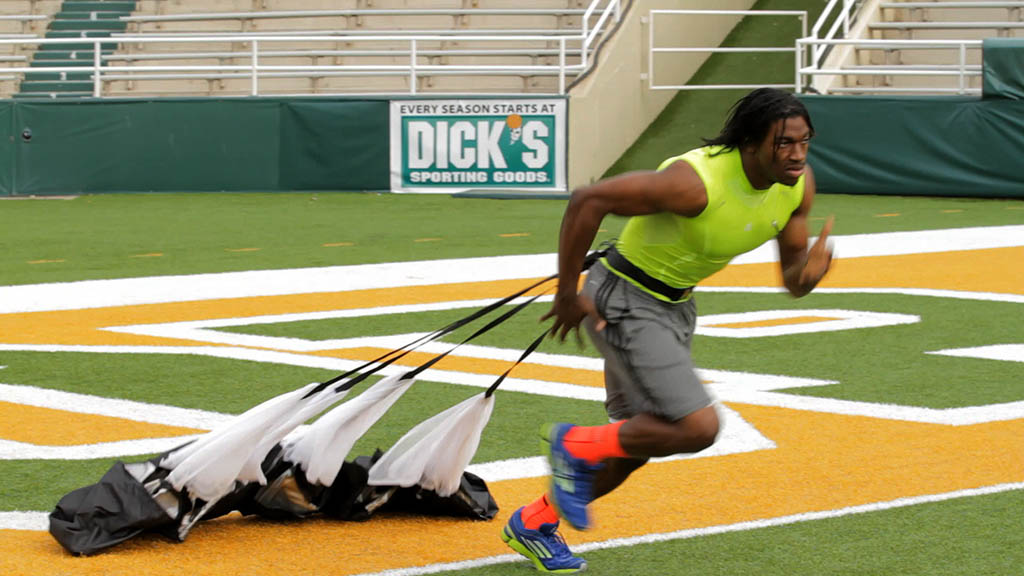 adidas Launches adiZero Sonic 3 with Robert Griffin III (1)