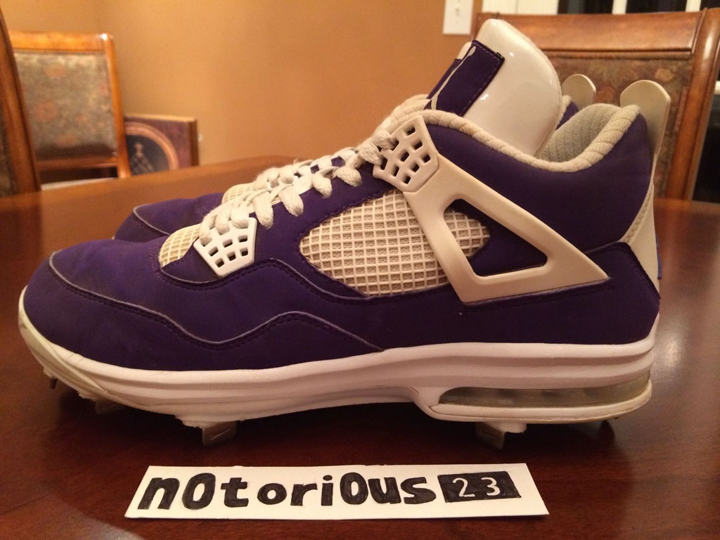 Air Jordan IV 4 Purple Suede Sunset Apollos PE (5)