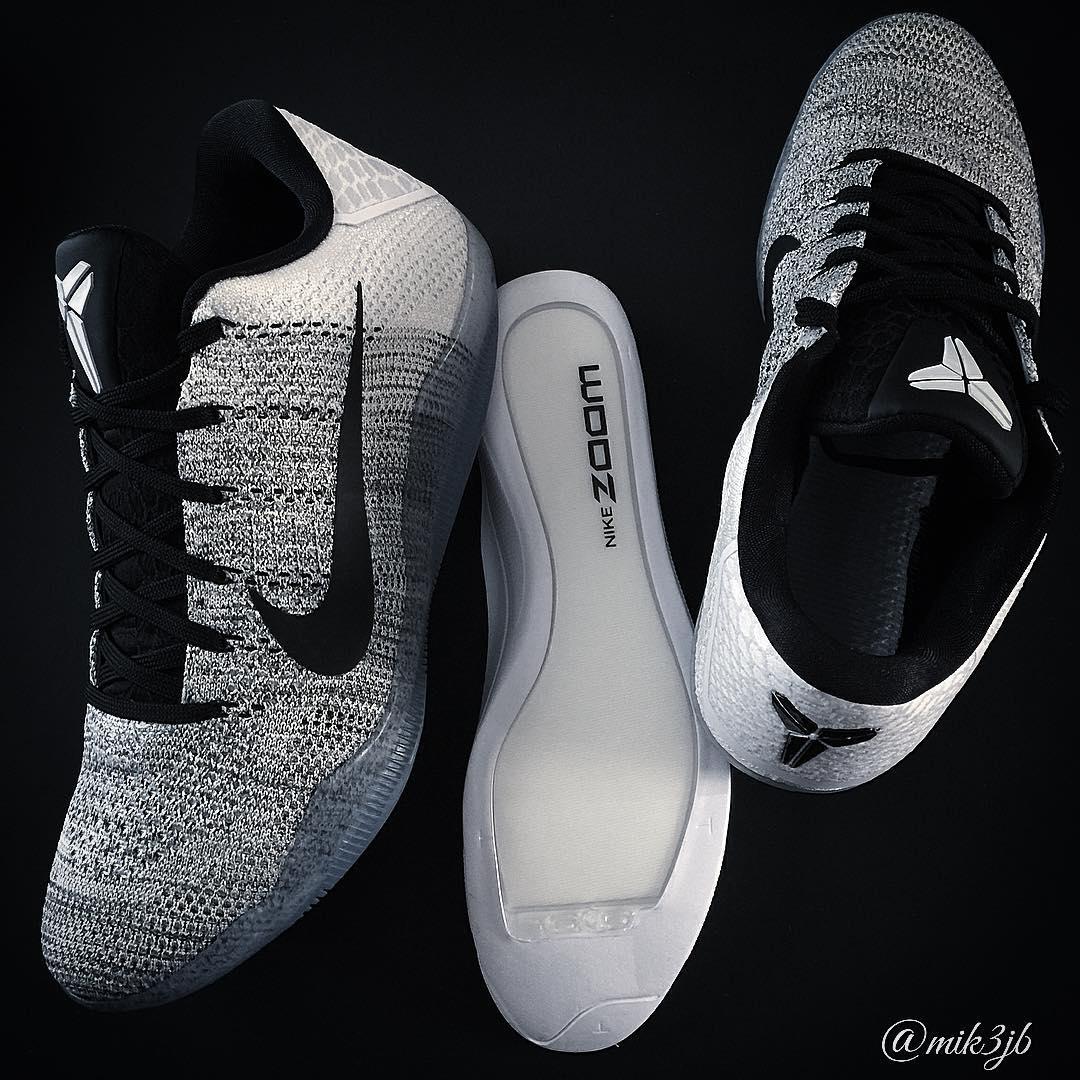 wholesale dealer d77ca d9ae6 White Black. NIKEiD Kobe 11 Designs (6)