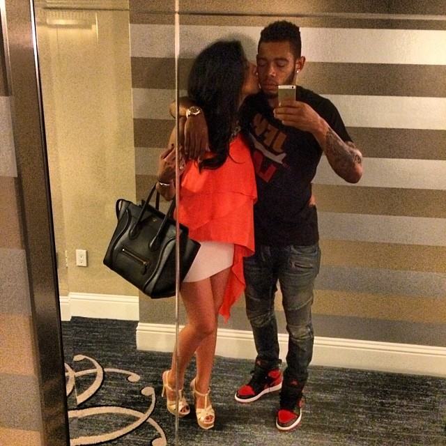 Joe Haden wearing Air Jordan 1 Black/Red