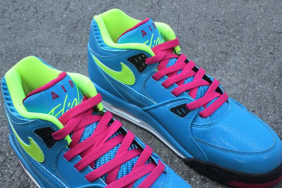newest collection e7362 9d974 Nike Air Flight 89 London Dynamic Blue Fireberry 306252-400 (6)